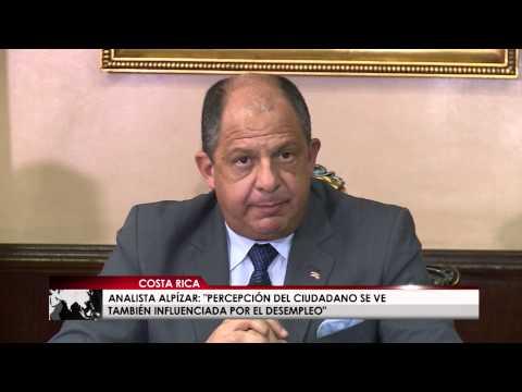 Universidad de Costa Rica realizó estudio sobre la percepción de la gestión del Presidente