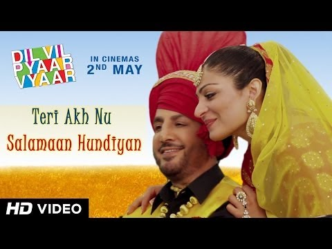 Gurdas Maan teri Akh Nu Salamaan Hundiyan - Dvpv | New Punjabi Songs 2014 video