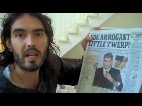 Can We Condemn Bieber For Childhood N-Word? Russell Brand The Trews Ep72