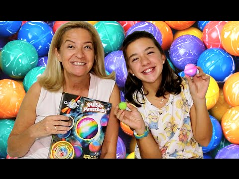 Juguete para hacer pelotas saltarinas con luz. Bouncy balls toy | Ideas FACILES DIY