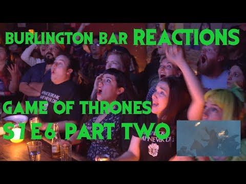 Game Of Thrones Reactions At Burlington Bar 7x6 Part Two