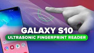 Yes, the Galaxy S10's ultrasonic fingerprint reader matters