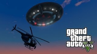 ★ GTA 5 : SECRET UFO EASTER EGG!! #2 [Sandy Shores UFO] - 100% Completion Gameplay