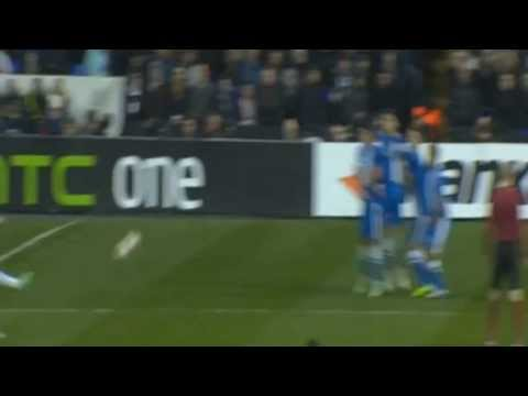 Christian Eriksen Amazing Free Kick Goal | Tottenham vs Dnipro 1-1 - Europa League HD