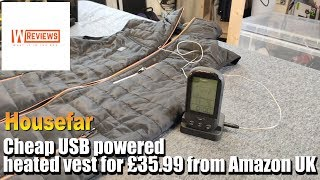 A cheap Housefar USB Electric Heated Vest review