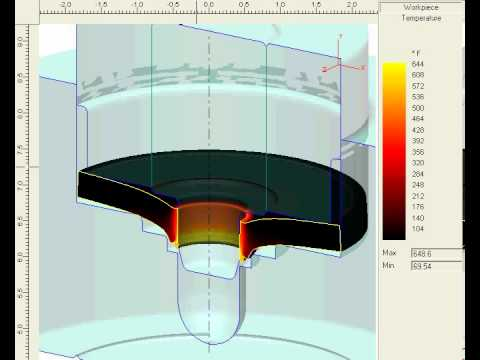 Metal Forming and Coining - Simulation Video