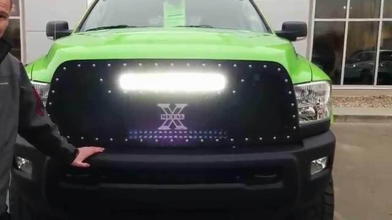 2016 Dodge Ram 3500 >> 2014 Ram 2500 Mega Cab Cummins Green Machine 2.0 - Edmonton Alberta - YouTube