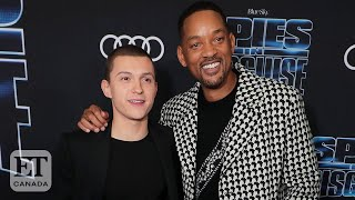 Will Smith And Tom Holland Talk New Spy Comedy 'Spies In Disguise'