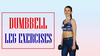 Best Dumbbell Leg Exercises - At Home