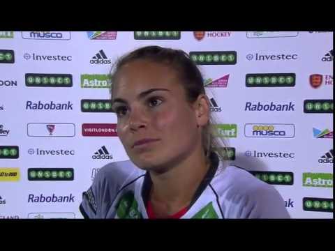 Lisa Altenburg Post Match Interview #UEHC2015 #EHC2015