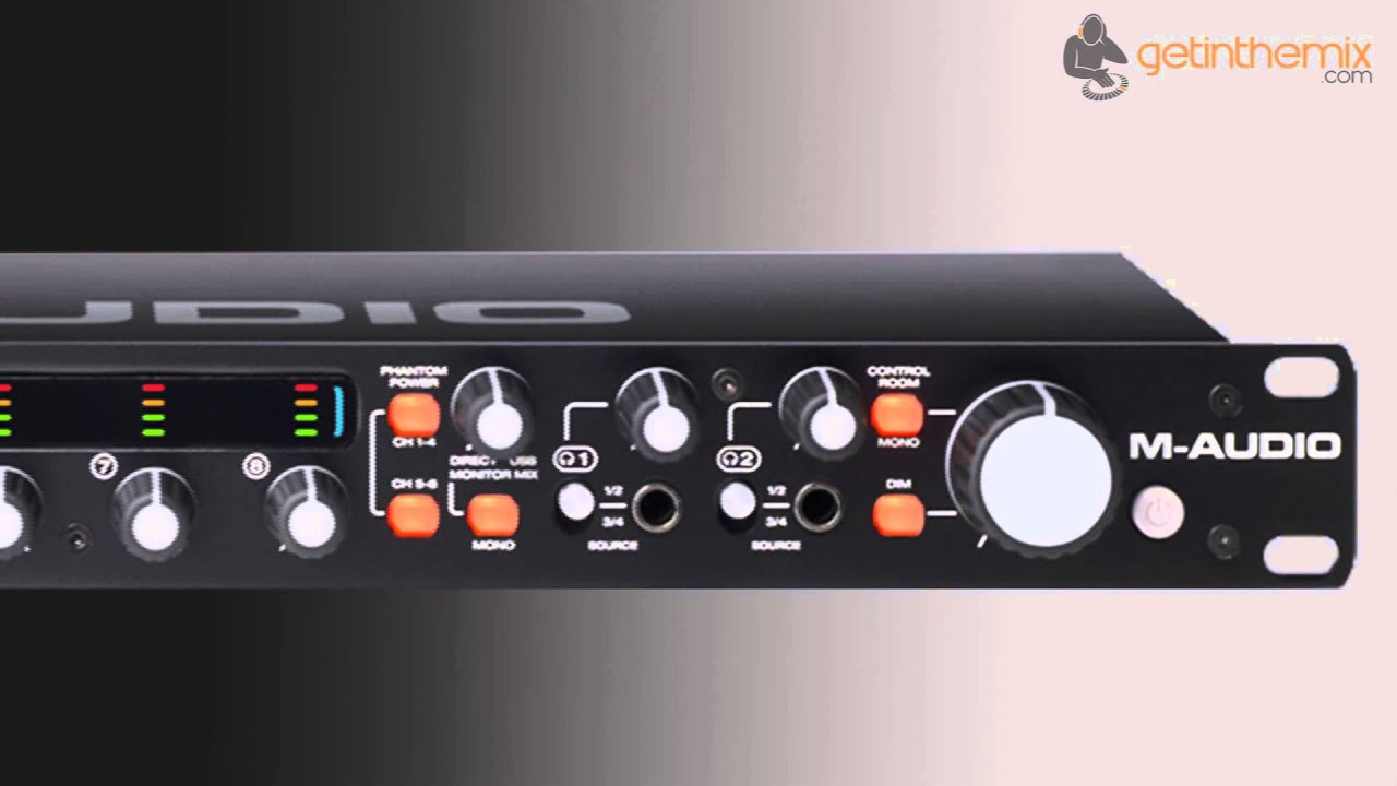 M-audio M-track Eight - 8 Channel Audio Interface