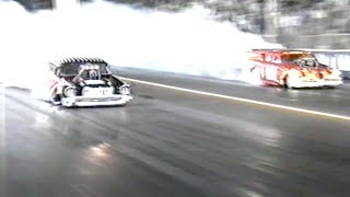#ThrowbackThursday - Top Doorslammer Chevy vs Studebaker 1997