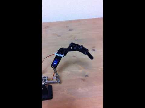 Linkage Mechanism for Robot Finger 2