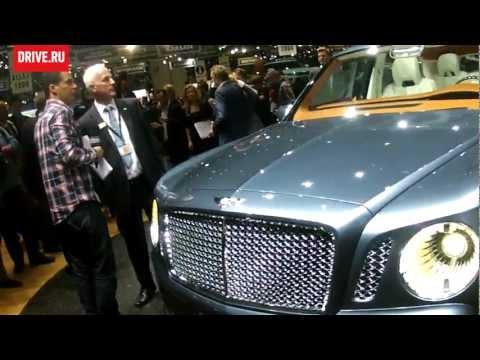 Bentley EXP 9 F на автосалоне в Женеве-2012