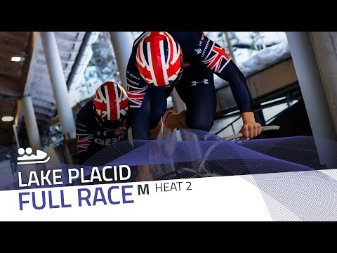 Lake Placid | BMW IBSF World Cup 2017/2018 - 2-Man Bobsleigh Heat 2 | IBSF Official
