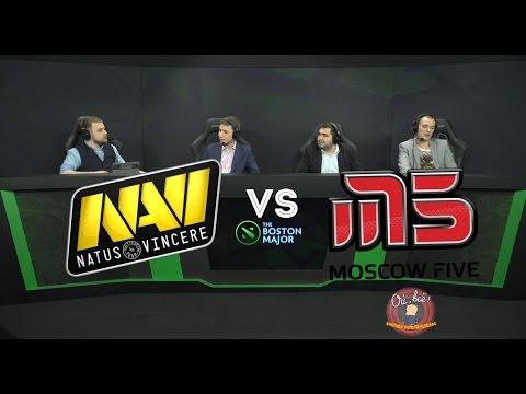 Аналитики смотрят Navi vs M5 игра с The International 1 (2011 год)