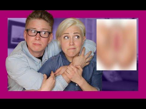 Gay Guy Learns About Vaginas (ft. Hannah Hart) | Tyler Oakley thumbnail