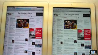 iTweak.tv - Speed of iPad 3 vs. iPad 2