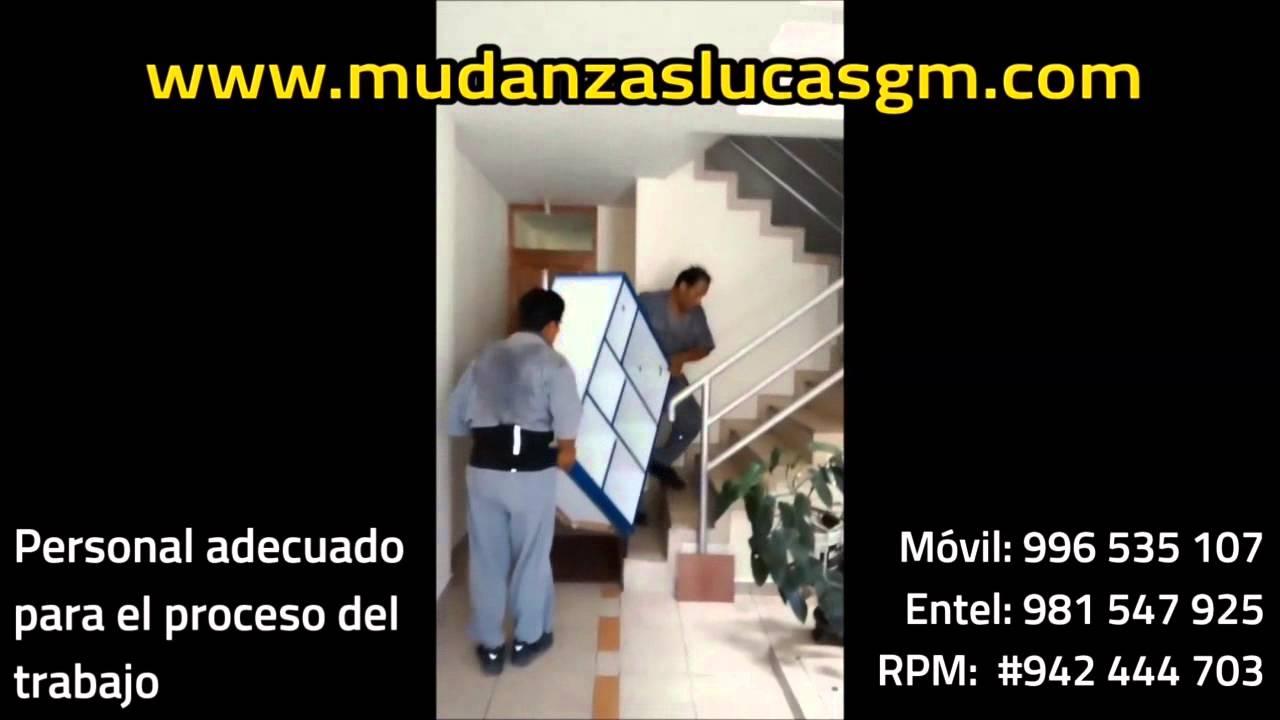 Traslados de muebles - Mudanzas en surco - YouTube
