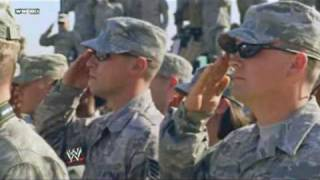 John Cena & WWE visit the Troops