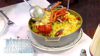 Gordon Ramsay Served Chicken Dish That's FILLED With Oil | Kitchen Nightmares