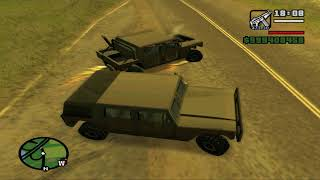 Grand Theft Auto: San Andreas - Killing the LS - SF Courier.