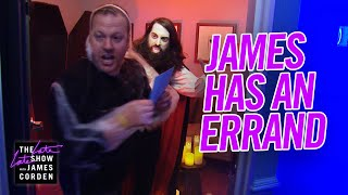 Help! James Corden Needs a Favor: Halloween Edition