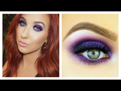 Electric Purple Smokey Eye Tutorial