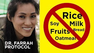 NO RICE, FRUITS, MILK and MORE based on Dr. Farrah Protocol for Cancer Patients