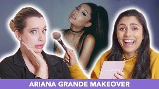I Tried Giving An Ariana Grande Makeover