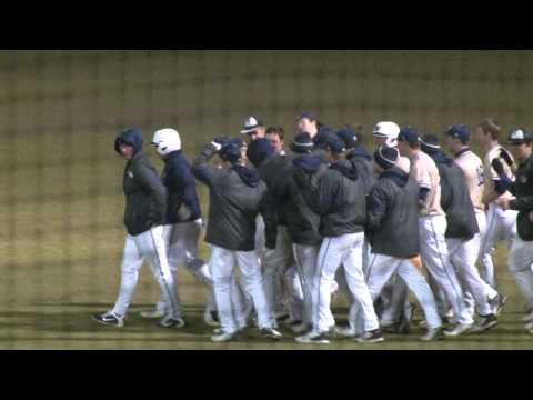 2015 Wingate Baseball - Brad Cherry walkoff single vs Brevard