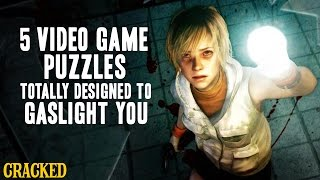 5 Video Game Puzzles Totally Designed To Gaslight You