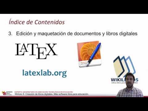 M9.0 Presentación. Creación de Libros Digitales. Software Libre (@iteumh 2014)