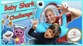 BABY SHARK Challenge | Pinkfong | Sing and Dance | #babysharkchallenge | House of toys