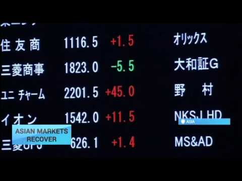 Asian Markets Recover: Asian stocks move away from four-year lows