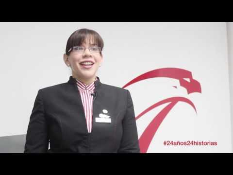 #24Años24Historias: Adriana Becerra, 10 años con Aserca Airlines