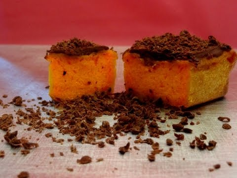 Receta: Tarta de calabaza y chocolate -- Pumpkin cake