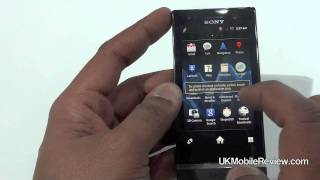 Sony Xperia U hands on