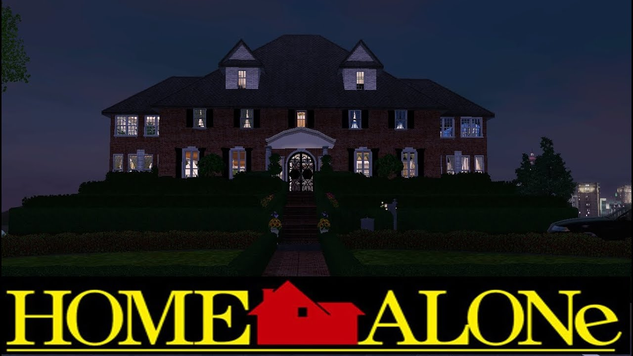 The Sims 3: Home Alone House - YouTube