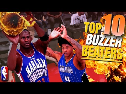 NBA 2K16 TOP 10 BUZZER BEATERS & Game Winning Shots In The Pro Am