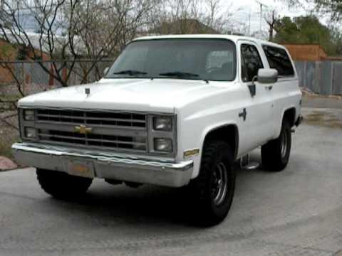 1985 Chevrolet K5 Blazer Silverado