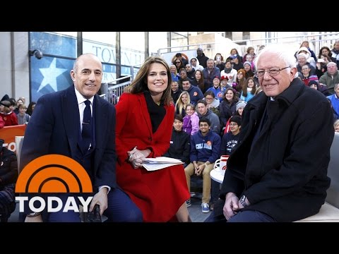 Bernie Sanders On Clinton's Qualification, Gender Inequality, 2016 Race (Full Interview) | TODAY