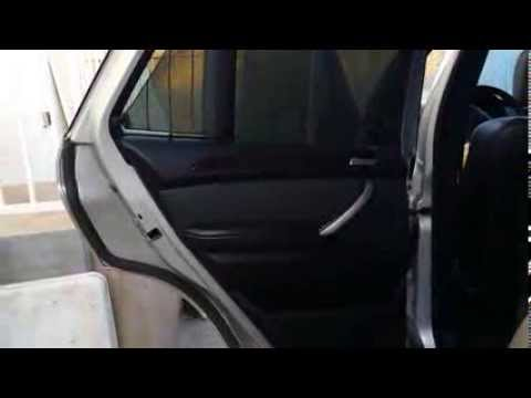 BMW E53 X5 Door Panel Window Regulaor Privacy Sun Shade Removal