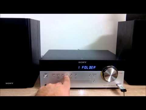 Sony CMTSBT100 - Sound Test