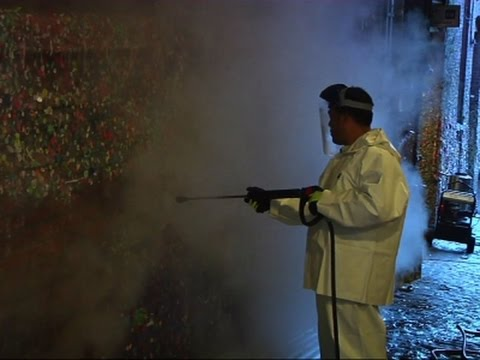 Sticky Situation: Cleaning Up Seattle 'Gum Wall'