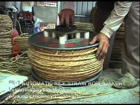 Rice Straw Uses Fk-2 Automatic Rice Straw Rope