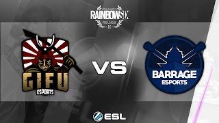 Download Rainbow Six Pro League - Season 1 - PC - EU - GiFu eSports vs Barrage eSports 3Gp Mp4