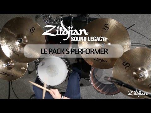 Les cymbales ZILDJIAN Série S : Le pack S Performer (vidéo de la boite noire)