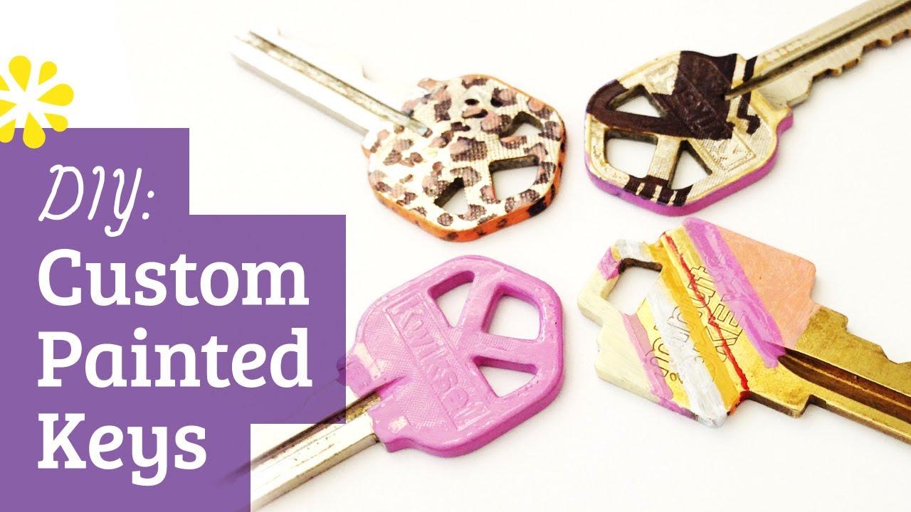 Diy Custom Painted Keys