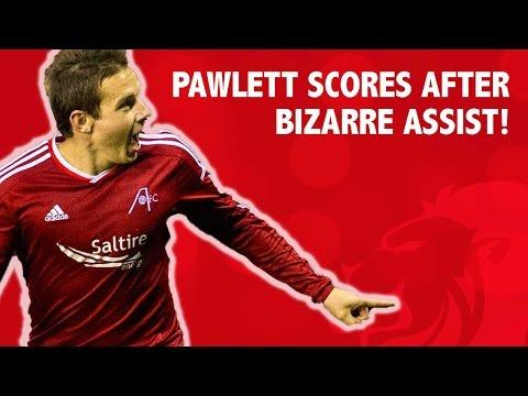 Pawlett scores after bizarre assist!